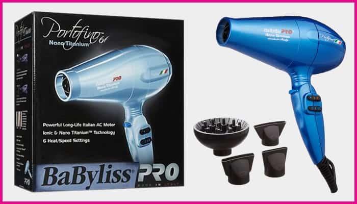 BabylissPRO Nano Titanium Portofino Hair Dryer