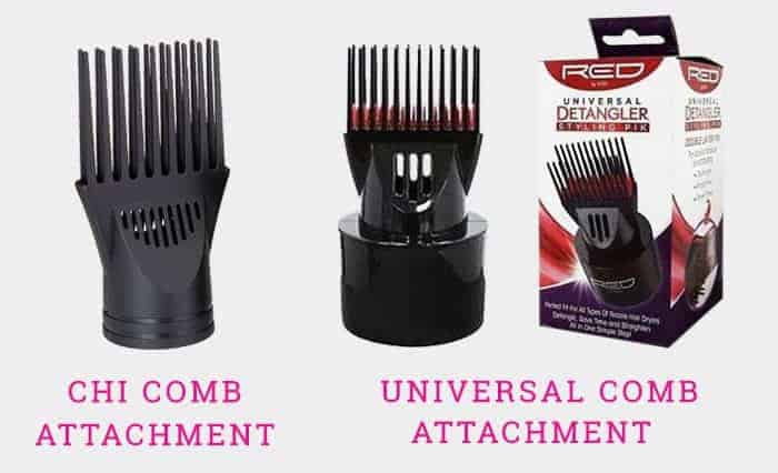 Comb Attachment Of CHI Hair Dryers