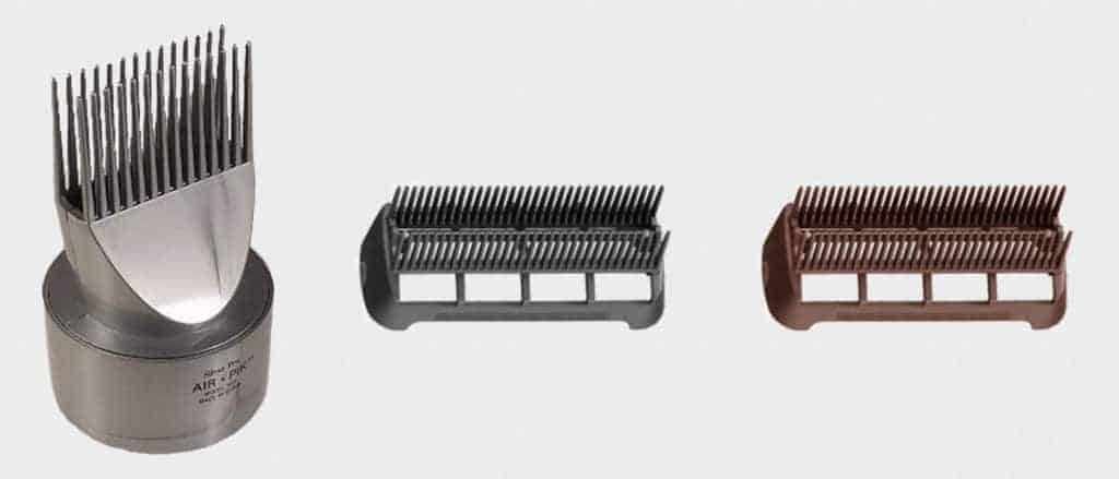 Dual Row Fine Tooth Comb Attachment