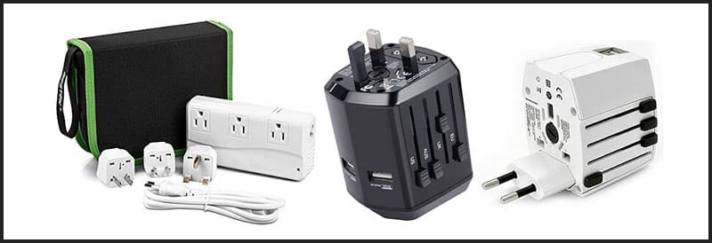 Adapter and voltage converter