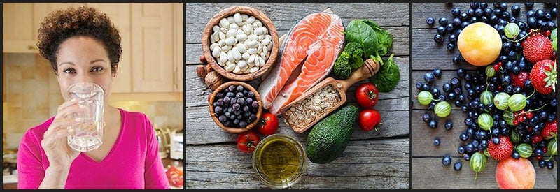 Balanced diet menu
