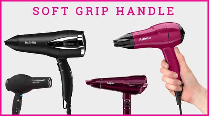 Comfortable Grip Of Babyliss Hair Dryers