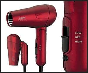 Conair MiniPRO Folding Handle Tourmaline Ceramic Hair Dryer - V1 Mar