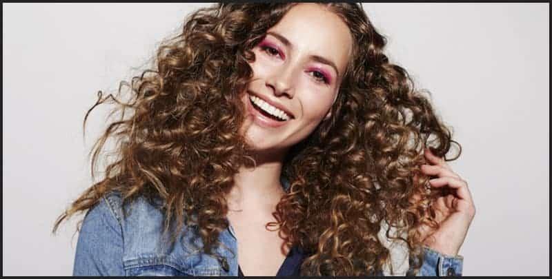 Curly hair - V1 Sep