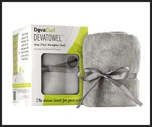 DevaCurl Deva-Towel Gray Microfiber