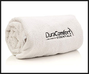DuraComfort Essentials Super Absorbent Anti-frizz Microfiber Hair Towel - V2 Aug