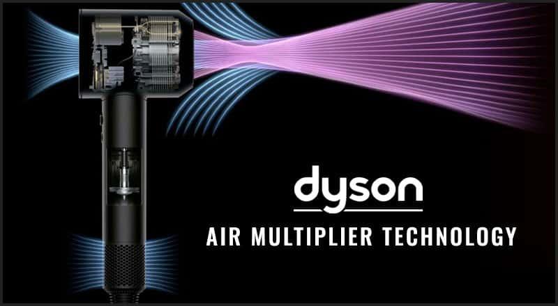 Dyson Hair Dryer Air Multiplier Technology
