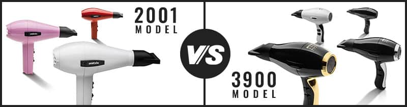 Elchim 2001 Model vs 3900 Models