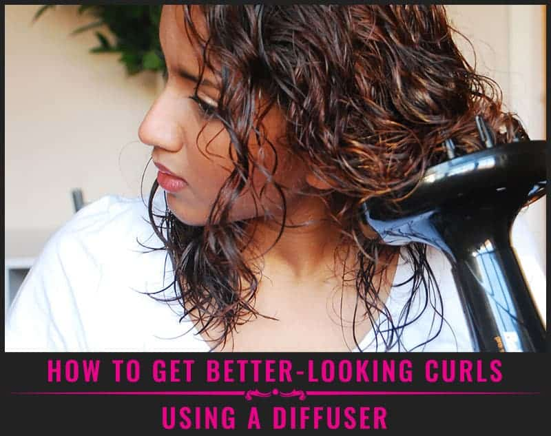 Featured Image Of How To Get Better-Looking Curls Using A Diffuser