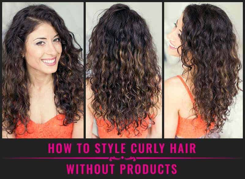 Featured Image Of How To Style Curly Hair Without Products