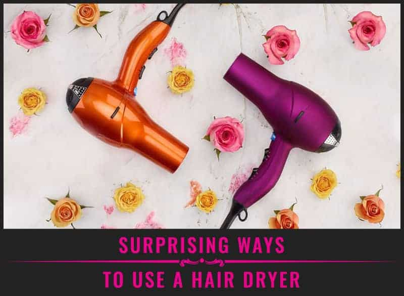 Featured Image of Surprising Ways to Use a Hair Dryer