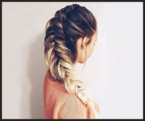 Flirty Fishtail Braid