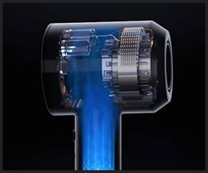 Heating System of Dyson Supersonic Dryer
