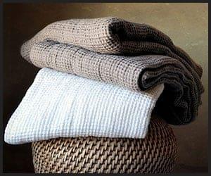 Linen Hair Towels