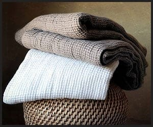 Linen Hair Towels