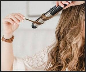 Create Beach Waves With Curling Iron