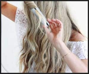Fine Hair Beach Waves With Flat Iron