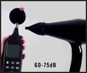 hair dryer decibel - HD64A1