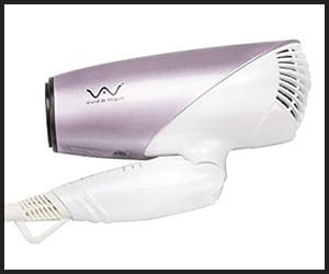 Vivid & Vogue Compact Travel Hair Dryer - Big HD74A1
