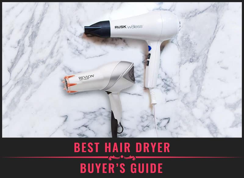 Featured immage of best hair dryer buyers guide